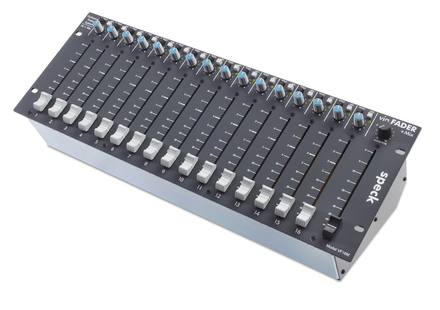 VF16M - 16 fader channels + mix