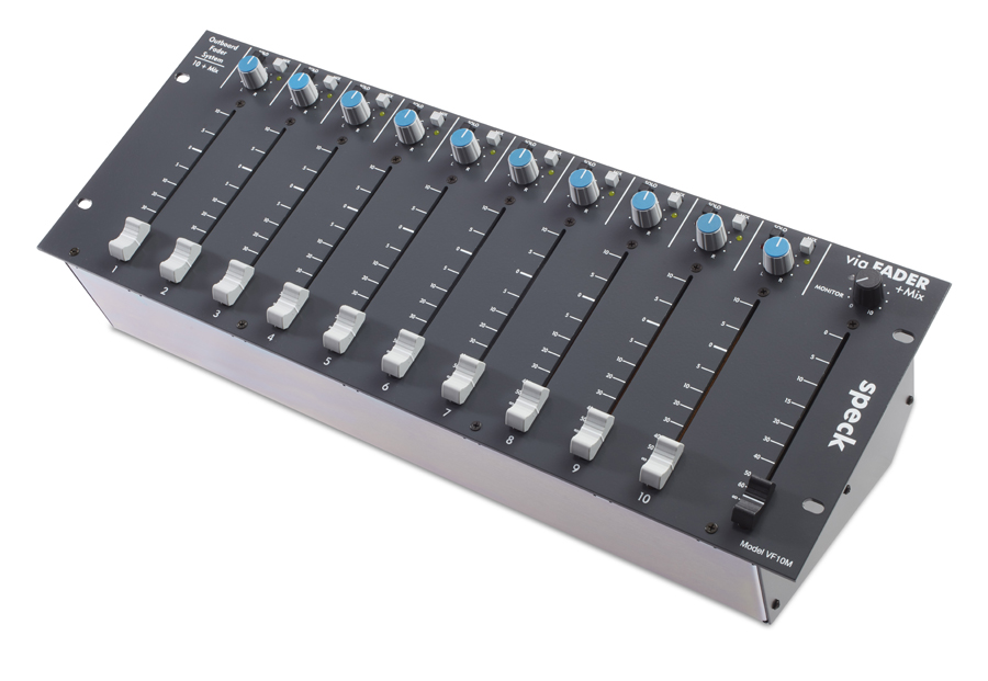 VF10M - 10 fader channels + mix