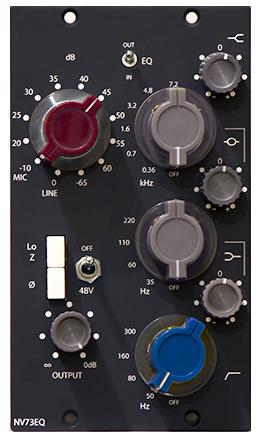 Mic Pre 2 Slot : 500 Series Modules
